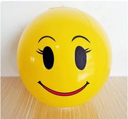 $enCountryForm.capitalKeyWord NZ - Pvc material inflatable smiling face ball kids outdoor beaach balls,water balls children toy balls free shipping