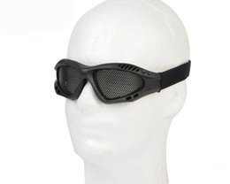 Chinese  Tactical Metal Mesh Eyes Protected Goggle sports Cycling Men Glasses Outdoor Eyewear manufacturers