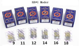 Packing Bag Machine Canada - HAX1 Model 1000pcs(10 only   bag) mixed packing domestic sewing machine needle for brother butterfly toyota singer feiyue Janome durable