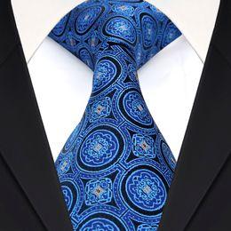 $enCountryForm.capitalKeyWord Canada - F27 Geometric Navy Blue Mens Ties Necktie 100% Silk Jacquard Woven Wholesale Suit Gift For Men Free Shipping