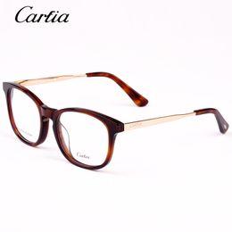 a8bbb5e7fc2 frame glasses men myopia 2019 - Carfia Brand Designer Reading glass frames  mens 5123 Fashion computer