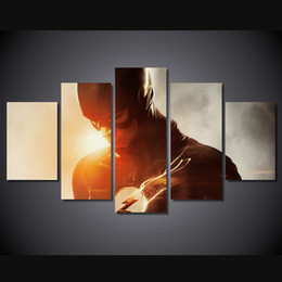 Canvas Prints Free Shipping Australia - 5 Pcs Set Framed Printed the flash season Painting Canvas Print room decor print poster picture canvas Free shipping ny-4125