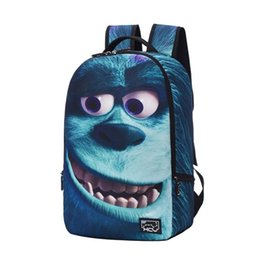 Cute Cooler bags online shopping - 2016 Hot Sale Animal Backpacks Men Women D Animals Felt Backpacks D Cute Animals Outdoor Shoulders Bag Teenagers Cool School Bags