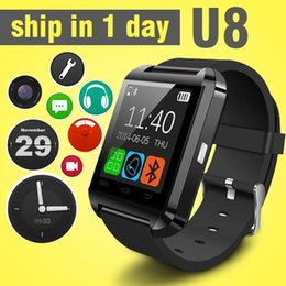 $enCountryForm.capitalKeyWord Canada - multi-function bluetooth U8 smart watch for touch screen smartwatch updated wrist watch sports watch fit samsung HTC android phone OTH014