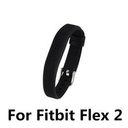 Chinese  Large small Size Silicone Replacement Rubber Band Wireless Activity Bracelet Wristband For Fitbit Flex 2 Wholesale manufacturers
