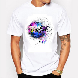 $enCountryForm.capitalKeyWord NZ - 2016 Summer Fashion Men T-Shirts Printing Surfer Colors Short Sleeve Sports T Shirts For Men The Unique Design Clothing
