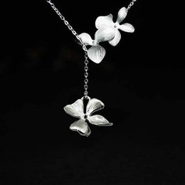 $enCountryForm.capitalKeyWord NZ - 925 sterling silver flower connector jewelry accessories earring necklace component,to send girlfriend a friend lover,a birthday present