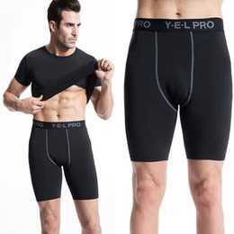$enCountryForm.capitalKeyWord Canada - Wholesale-2016 Men Running Shorts Compression Running Tights Bodybuilding And Fitness Sports Tights Dry Quick Spandex Athletic Trousers