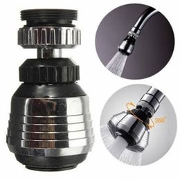 save water adapter 2019 - Kitchen Faucet Water Bubbler Swivel Head Adapter Water Saving Tap Aerator Connector Diffuser Multifunctional Faucet Filt