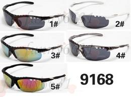 Sunglasses Designers Canada - Retail brand new men fashion driving sun glasses woman sports sunglasses women brand designer sunglasses tortoise 5colors free ship 9168