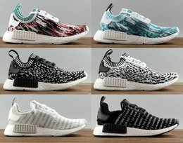 3e263e6a253e7 Adidas NMD Runner Black Blue On feet Video at Exclucity