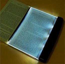 $enCountryForm.capitalKeyWord NZ - LED Book Light Reading Night Light Flat Plate Portable Car Travel Panel Led Desk Lamp for Home Indoor Kids Bedroom