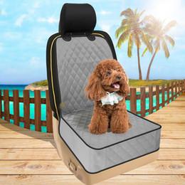 Su geçirmez Pet Koltuk Kılıfı Köpek Paspaslar Araba Koltuğu Kapağı Küçük Orta Köpekler için Pet Koruma Mat ile Araba için Emniyet Kemeri SUVS Kamyon