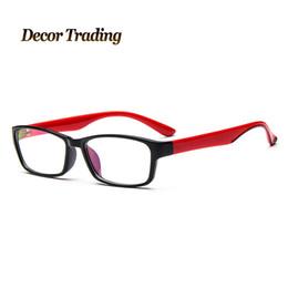 8975b2a18b4 Wholesale- Brand Designer UV400 Eyeglasses Frame Vintage Eye Glasses Clear  Lens Reading Eyewear Optical Glass Gafas Oculos De Grau 2314