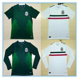 1fade7641 ... 2017 Mexico National Team Jersey 17 18 Mexico Home green Soccer Jerseys  2018 away white Football ...