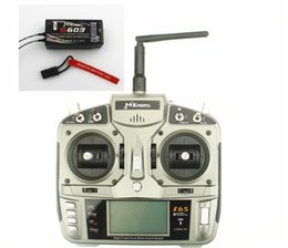 Wholesale I6S RC Full Range GHz DSM2 Channel Remote Control Radio with S603 Receiver Mode1 or Mode2