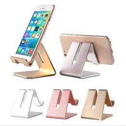 $enCountryForm.capitalKeyWord Australia - Universal Aluminum Metal Cell Phone Tablets PC Desk Stand Holder Support Bracket For iPhone X 8 8 PLUS For Galaxy Note 8