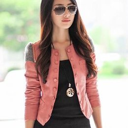 Discount Coloured Leather Jackets Women | 2017 Coloured Leather ...