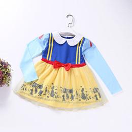 $enCountryForm.capitalKeyWord NZ - Autumn & winter Mickey Alice dress Girls long sleeve snow white dress Kids Halloween Costume 80% Cotton For 90cm-130cm