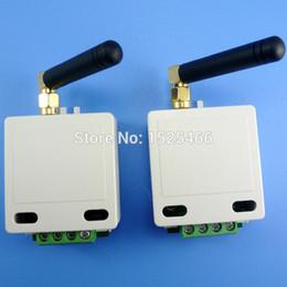 Großhandel 2x 433MHz 1 km Long Distance UART RS485 UART Wireless Transceiver-Modul RF Serial Port Daten Pass-Through-Brett für PTZ Modbus PLC