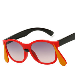 Funny sunglasses online shopping - 2018 Trend New Kids Polarized Funny Kids Sunglasses UV400 Boy Girls Cool PC Rubber Flexible Casual Glasses Oculos De Sol Eyewear With Bag