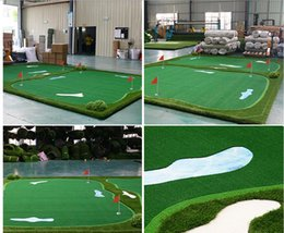 Ingrosso Golf green 2016 il fashionest golf training aid Golf pratico golf putting green free shipping mat o swing trainer