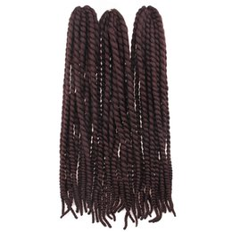 Ombre Kanekalon Jumbo Braid Hair UK - New Arrive 120g pcs 24'' Synthetic Braiding Kanekalon Jumbo Braid Hair Havana Mambo Twist Crochet Hair Extension