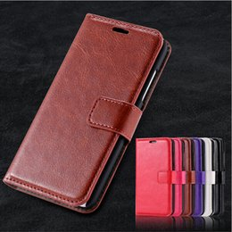 Iphone Phone Standing Cases Canada - For iphone 7 Luxury Wallet Phone Case Book Leather Case Cover Stand with Credit Card Holder