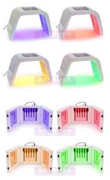 $enCountryForm.capitalKeyWord Canada - 2016 Newest LED Skin Rejuvenation Machine 4 PDT Photon Colors Professional LED Facial Machine For Salon Use Or Home Use