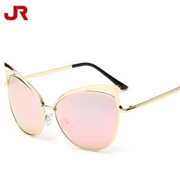bdbf002c79f8 China Women Sunglasses European Cat Eye Fashion Sun Glasses Metal Frame  Glasses Lady Outdoor Brand Sunglasses
