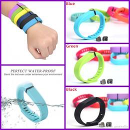 $enCountryForm.capitalKeyWord NZ - Fitbit Flex Band Black With Clasp Replacement TPU Wrist Strap Wireless Activity Bracelet Wristband With Metal Clasp (No Tracker)