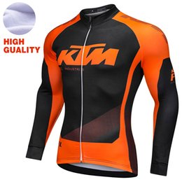 Men winter thermal fleece cycling jersey maillot ciclismo NEW cycling  Jacket Sport bike outdoor clothing Top black orange ropa ciclismo dbe4a70fc
