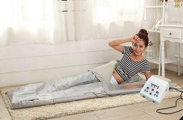 $enCountryForm.capitalKeyWord NZ - Portable Far Infrared Sauna Blanket FIR Thermal Blanket Sauna Waterproof Infrared Blanket Weight Loss Body Shape Detox Body Wrap
