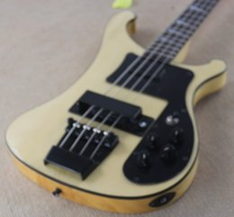 $enCountryForm.capitalKeyWord Canada - RIC Custom Natural 4 Strings 4003 Electric Bass Black Hardware White Pearloid Triangle Fingerboard Inlay