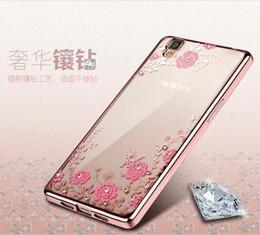 Discount secret iphone - Plating Soft TPU Case For Iphone 7 Plus 8 OPPO R9 Huawei P8 P9 Lite 6 7 8 5A 5C 5X Diamond Bling Secret Garden Flower Bu