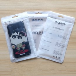Price mobile Phone case online shopping - Factory Price Zipper Lock Plastic Retail Packaging Bag For iphone plus X Mobile Phone Case OPP Poly PVC Package Bags