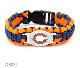$enCountryForm.capitalKeyWord NZ - 12Pcs Lot Multic suspension-line bracelet leather bracelet beads Men's Bracelet Alloy Punk Charm Bracelets 2017