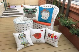 $enCountryForm.capitalKeyWord Canada - Cartoon The owl lovely bird collection cute pets emoji pillow massager decorative pillows fashion home decoration kids gift