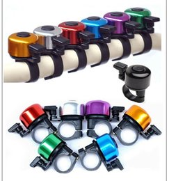 sound bicycle NZ - Wholesale-Explosion Models Aluminum Alloy Loud Sound Bicycle Bell Handlebar Safety Horn Ring Bike Bell Accessories Multi Colors Bicicleta