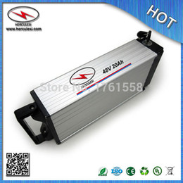$enCountryForm.capitalKeyWord Canada - Rear Rack Battery 48V 20Ah Lithium ion Battery pack for electric bicycle with 18650 Li-ion Cell 13S 30 Amp BMS FREE SHIPPING