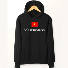 Felpe con bandiera del Vietnam Nation boy girl felpe con cappuccio Country fleece clothing Pullover felpe Outdoor sport coat Giacche spazzolate