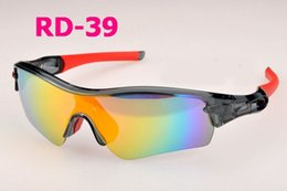 bicycle cat NZ - New Professional Polarized Cycling Glasses Bike Goggles Sports Bicycle Sunglasses UV 400 5 lens RD 01