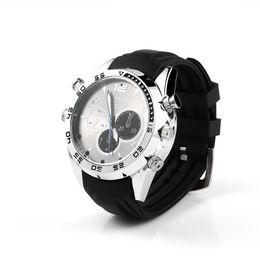 $enCountryForm.capitalKeyWord UK - 32GB HD 1080P Mini Wristwatch Camera Waterproof Watch Video Recorder Pocket Mini DV Night Vision Portable Camcorder with Voice Recording