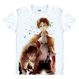 Attack on Titan T-Shirt Mikasa Ackerman Shirt Causal Magliette Anime Manga Pretty Cool Impressionante Novità t-shirt miglior regalo anime Cartoon Cut