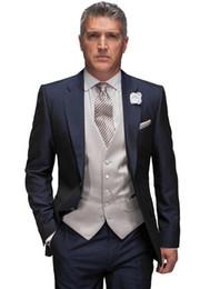 Dark Blue Suit Purple Vest Tie Canada   Best Selling Dark Blue ...