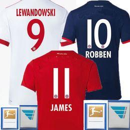 7d5bd0a2d0d 2017 2018 JAMES ROBBEN LEWANDOWSKI ALABA Coman Away Home White Soccer  Jerseys 17 18 Toliss MULLER RIBERY VIDAL Goalkeeper Football Shirts ...