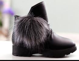 $enCountryForm.capitalKeyWord NZ - Kids Leather Snow Boots Hot Kids Winter Boots Waterproof Child Sneakers Girls Warm Martin Boots Plush