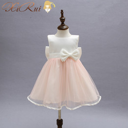 baby dresses cotton for wedding Australia - New Flower Girls Dress For Wedding And Party Infant Princess Little Girl Dresses Toddler Costume Baby Kids Clothes robe fille