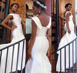 abcc5ac4d966 Cover girls make up online shopping - Elegant White Mermaid Black Girl Prom  Dresses Satin Lace