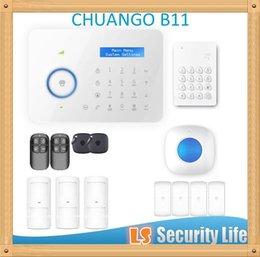 China Hot selling Chuango B11 Dual network PSTN and GSM burglar Security Alarm System P375kit suppliers